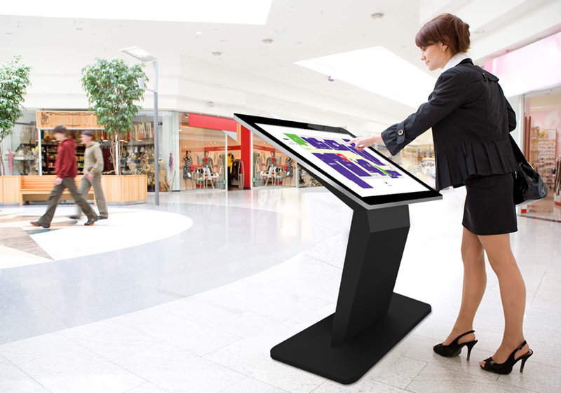PCAP Touch Screen Kiosk Application