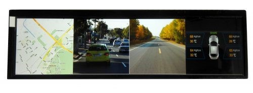 high res 8 inch auto tft