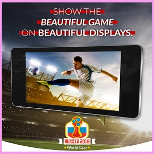 Score a Hattrick with Outdoor Displays for the World Cup