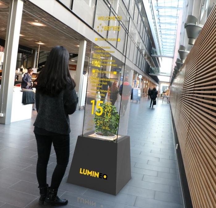 Lumineq TASEL shopping centre