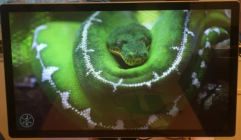 CDS 4k pcap touch monitor