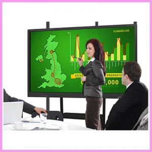 WOW an Incredible 86 inch Interactive Touch Display