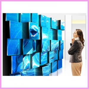 Square LCD Displays Look Amazing for Artist Designs