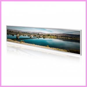 Super Slim Ultra Wide Stretched Displays