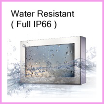 CDS IP66 water resistent monitors