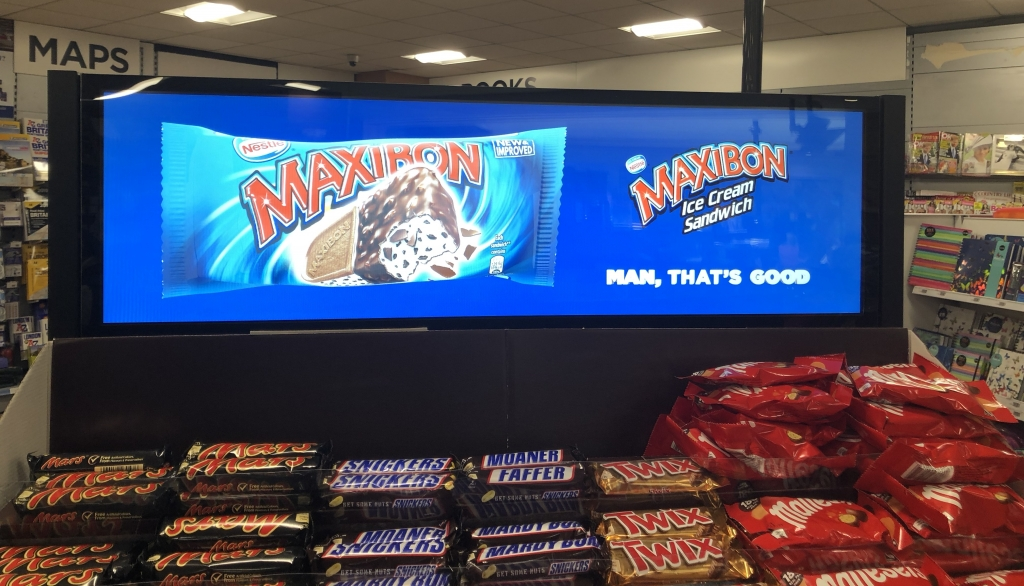 CDS stretched displays installs