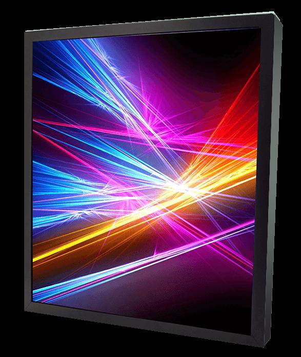 CDS 27.3 inch square cut display