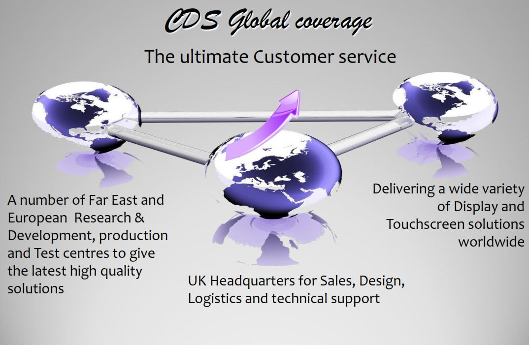cds global coverage worldwide