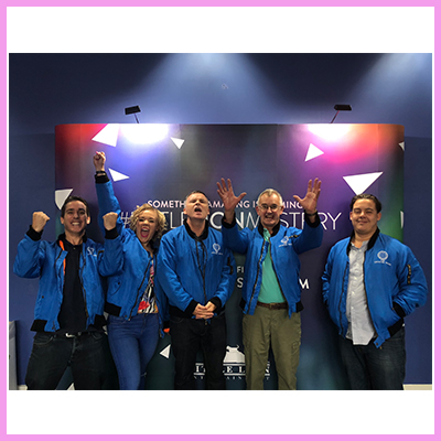 Crystal Displays Takes on the Crystal Maze!