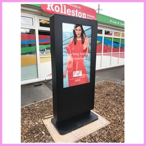 CDS Updates its Outdoor Freestanding Displays at no Extra Costs