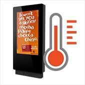 CDS smart temp outdoor display