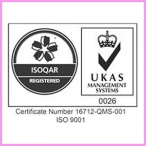 CDS have now been Accredited with ISO 9001 2015
