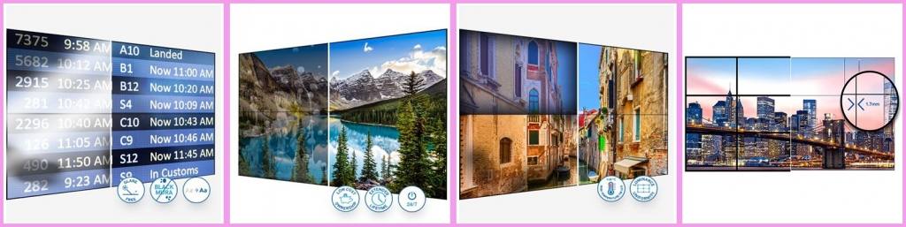 CDS videowall solutions from Samsung
