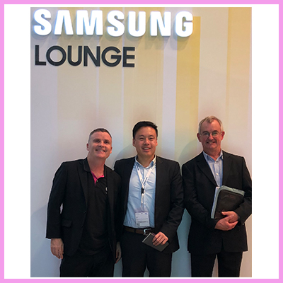 Samsung Fully Supports CDS with Public Information Displays (PID) in the UK