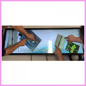 Stretched LCD Monitors with Touch Interaction