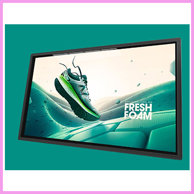 New 4K Large Format Commercial Displays