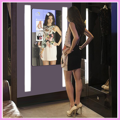 CDS Magic Mirrors Revolutionise the Shopping Experience