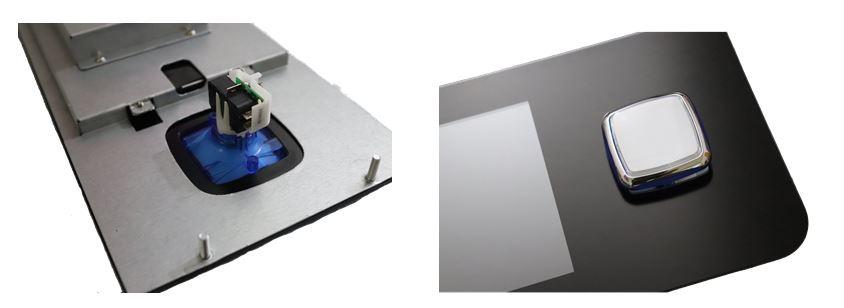 12.3 inch button deck