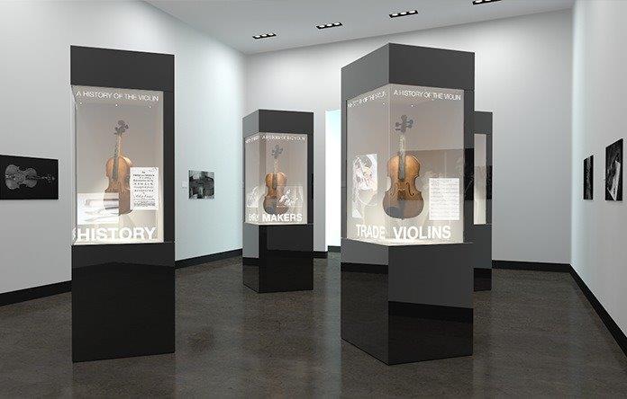 transparent boxes war museum
