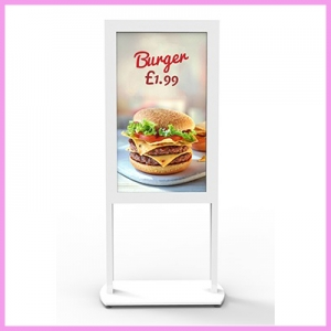 Newly Launched 46 inch Freestanding Window Displays