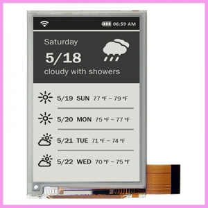 Outdoor IP65 E-Paper Signs from CDS