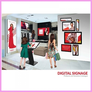 Newly Launched CDS Digital Signage Brochure 2019