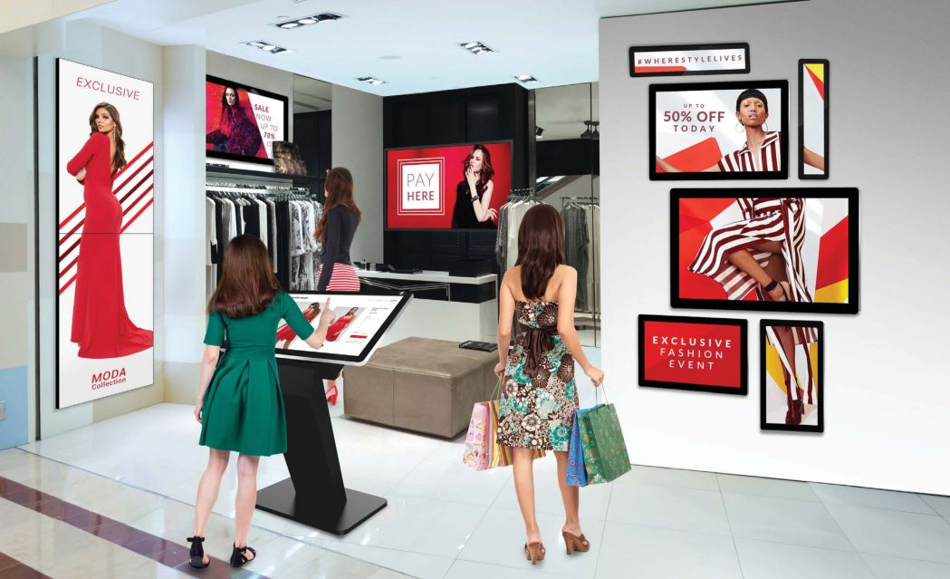 CDS digital signage brochure