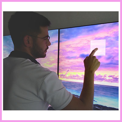 Newly Launched CDS 55 inch Touch Wall