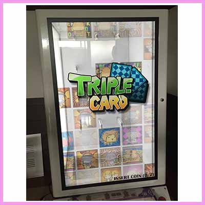Gaming Machines Now Using Transparent Display Panels and Solutions