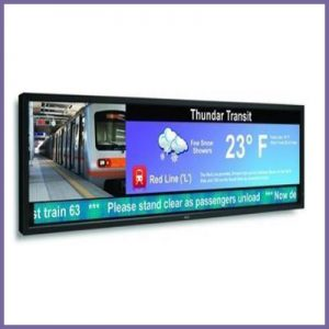 Comprehensive Range of Ultra Wide Stretched LCD Displays