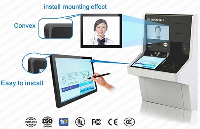 19 inch ip65 edge monitors