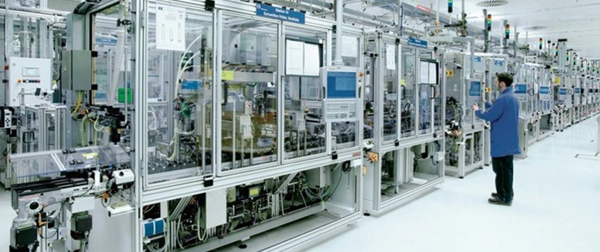 Industrial Panel PC used in automatic production line