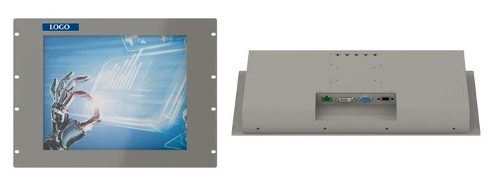 TC case study industrial rack monitor