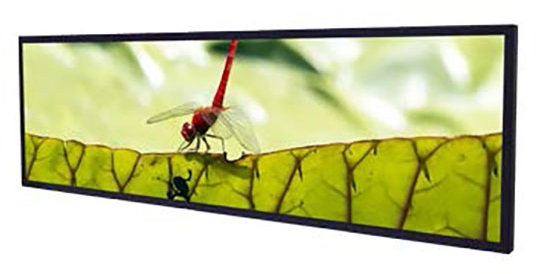 49.5 inch stretched lcd