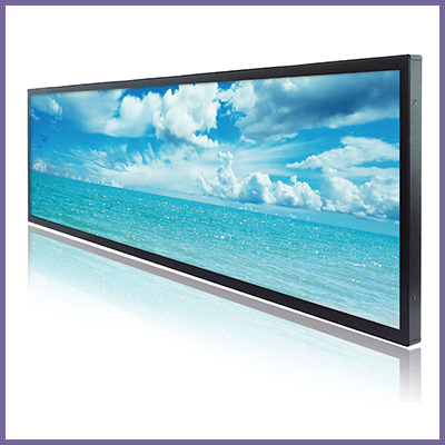 CDS large format stretched LCD