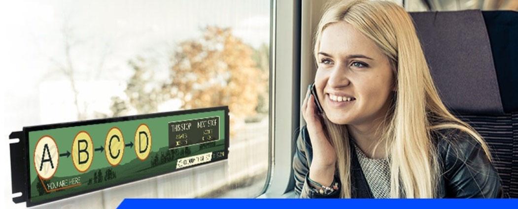 PID displays bus train