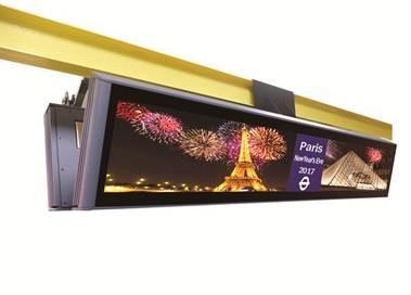 CDS LCD rail display