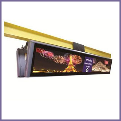 57.4″ Double Sided 4K Stretched Panel PC