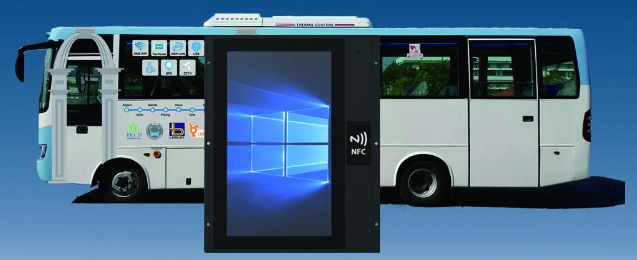 Custom Industrial Panel PC for Vehicle System1