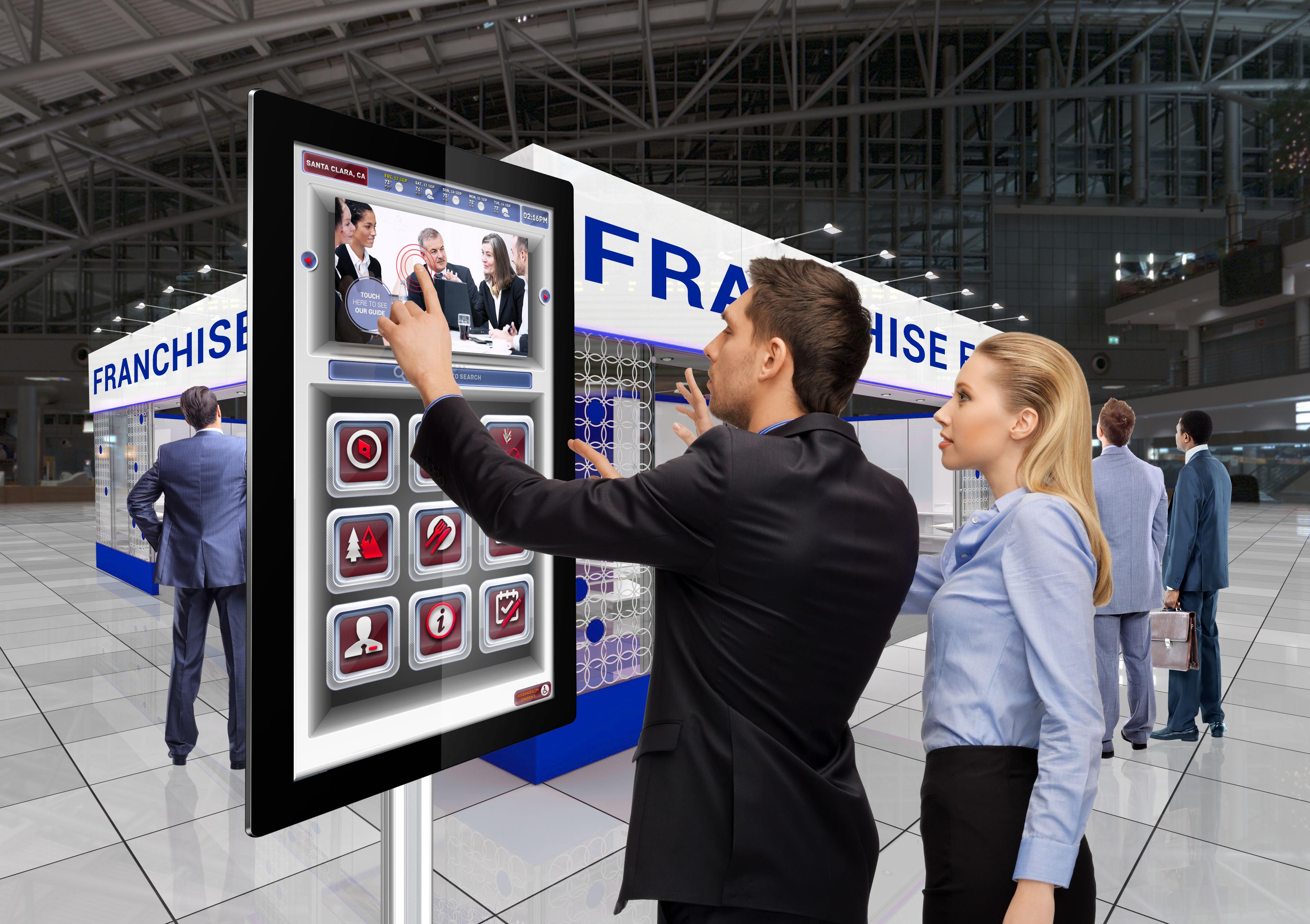 CDS AIO touch kiosks