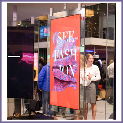 Crystal Displays Double Sided Digital Signage Kiosks