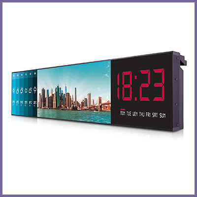 Extensive Range of Stretched Bar Monitors