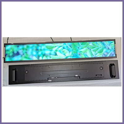 New Ultra Slim Stretched LCD Models
