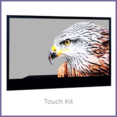 Feel the Experience with Touch Interactive Transparent OLED