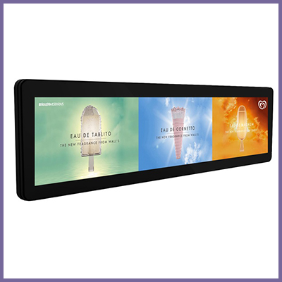 CDS stretched LCD monitor