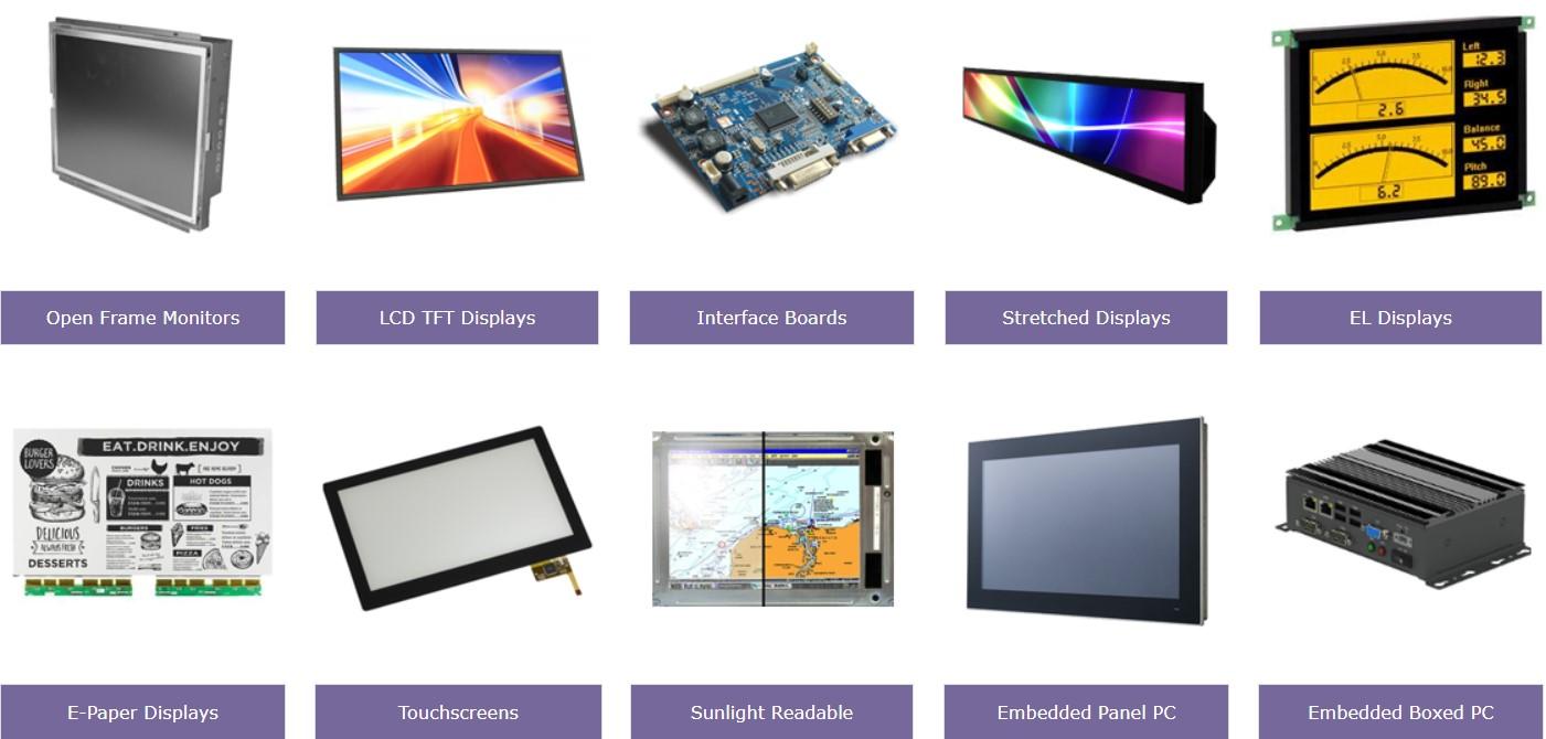instrumentation market displays