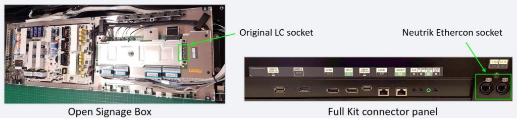 CDS toled connections