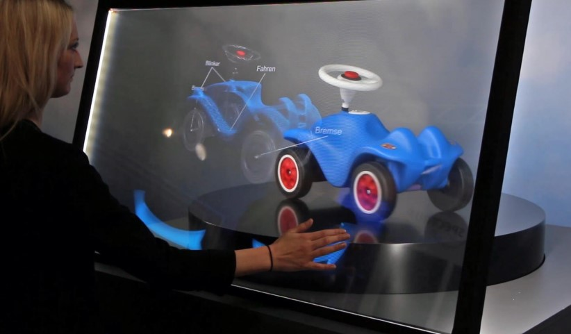 CDS touch interaction TOLED