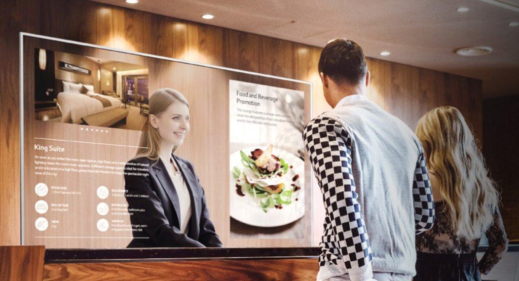 transparent OLED displays