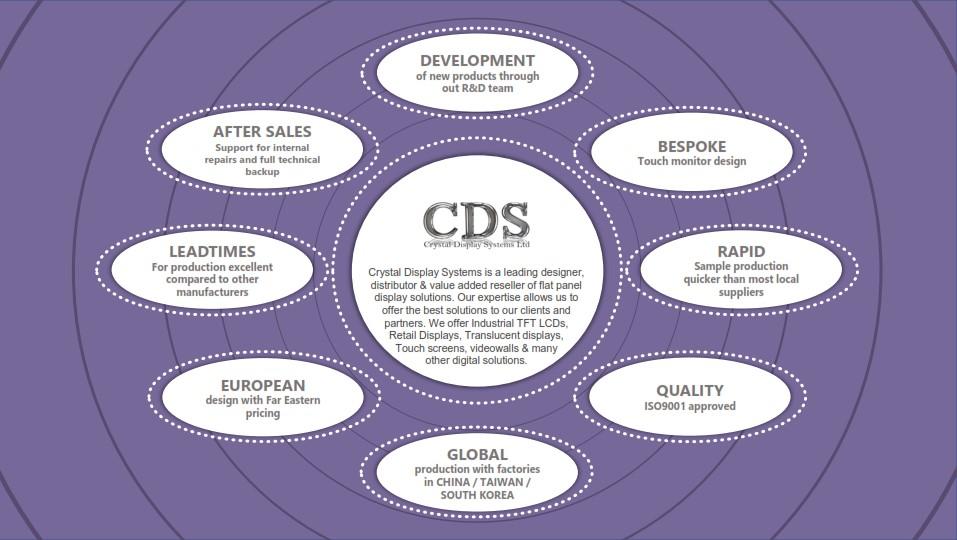 CDS Capability Graphic wheel